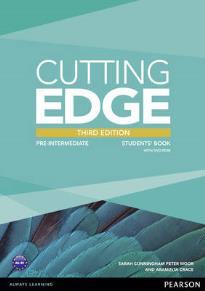 CUTTING EDGE PRE-INTERMEDIATE STUDENT'S BOOK (+ DVD) 3RD ED