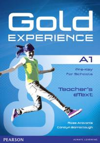 GOLD EXPERIENCE A1 ACTIVE TEACH IWB SOFTWARE