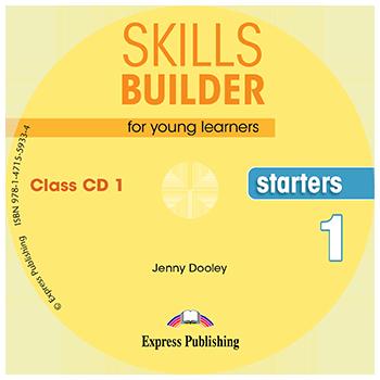 SKILLS BUILDER STARTERS 1 CD CLASS 2018