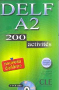 DELF A2 METHODE (+ CD) (+200 ACTIVITES) N/E