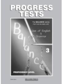 BALANCE 3 CPE (USE OF ENGLISH + GRAMMAR) TEST REVISED