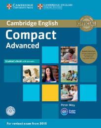 COMPACT ADVANCED STUDENT'S BOOK PACK W/A (+ CD-ROM + CLASS AUDIO CD'S (3))