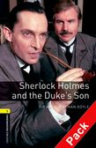 OBW LIBRARY 1: SHERLOCK HOLMES AND THE DUKE'S SON (+ CD) N/E