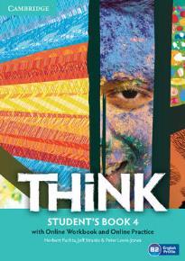 THINK 4 STUDENT'S BOOK (+ ONLINE W/B & ONLINE RESOURCES)