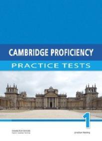 CAMBRIDGE PROFICIENCY PRACTICE TESTS 1 STUDENT'S BOOK