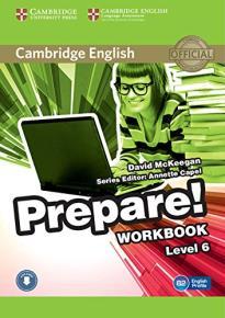 PREPARE! 6 WORKBOOK ( + ON LINE AUDIO)