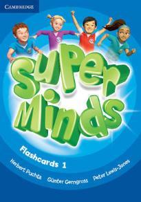 SUPER MINDS 1 FLASHCARDS