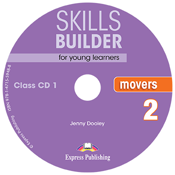 SKILLS BUILDER MOVERS 2 CD CLASS 2018