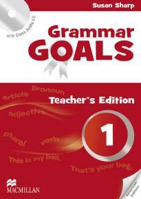 GRAMMAR GOALS 1 TEACHER'S BOOK  PACK AMERICAN ENGLISH