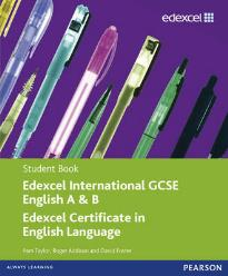 EDEXCEL INTERNATIONAL GCSE ENGLISH A&B STUDENT'S BOOK WITH ACTIVEBOOK CD PB