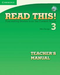 READ THIS! 3 TEACHER'S BOOK