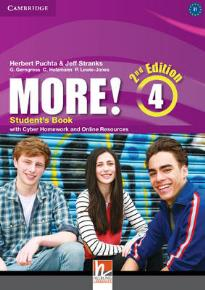 MORE! 4 STUDENT'S BOOK WITH CYBER HOMEWORK 2ND ED