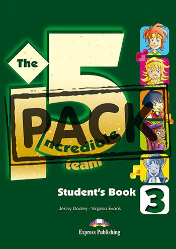 INCREDIBLE 5 TEAM 3 STUDENT'S BOOK (+ IEBOOK) (GREECE)