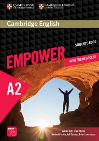 EMPOWER A2 STUDENT'S BOOK (+ ONLINE ASSESSMENT, PRACTICE & ONLINE W/B)