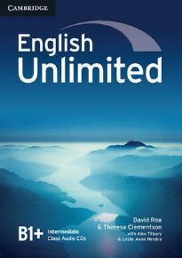 ENGLISH UNLIMITED B1+ INTERMEDIATE CD CLASS (3)