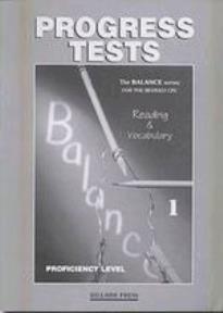 BALANCE 1 CPE (READING & VOCABULARY) TEST REVISED