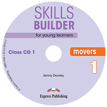 SKILLS BUILDER MOVERS 1 CD CLASS 2018