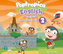 POPTROPICA ENGLISH ISLANDS 2 CD CLASS
