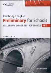 CAMBRIDGE ENGLISH PRELIMINARY FOR SCHOOLS PRACTICE TESTS CD CLASS