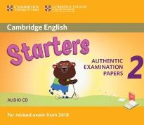 CAMBRIDGE YOUNG LEARNERS ENGLISH TESTS STARTERS 2 CD (FOR REVISED EXAM FROM 2018)