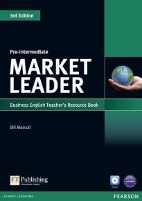 MARKET LEADER PRE-INTERMEDIATE TEACHER'S BOOK  (+ TEST MASTER CD-ROM) 3RD ED