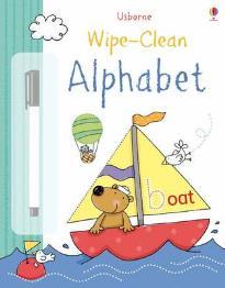 USBORNE WIPE-CLEAN : ABC PB