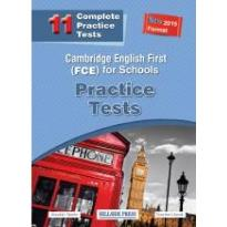 CAMBRIDGE ENGLISH FIRST FOR SCHOOLS (11 TESTS) PRACTICE TESTS TEACHER'S BOOK  (NEW 2015 FORMAT)