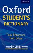 OXFORD STUDENT'S DICTIONARY N/E PB