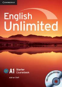 ENGLISH UNLIMITED A1 STARTER STUDENT'S BOOK (+ E-PORTFOLIO)