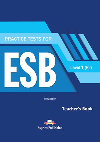 PRACTICE TESTS 1 ESB B2 TEACHER'S BOOK  (+ DIGIBOOKS APP)