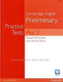 PET PRACTICE TESTS PLUS 3 (+ MULTI-ROM) N/E