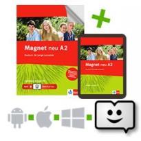 MAGNET A2 ARBEITSBUCH (+ CD) +KLETT BOOK APP NEU