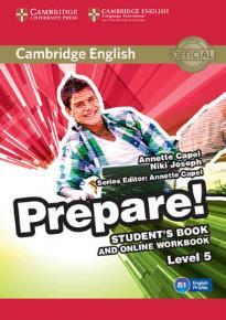 PREPARE! 5 STUDENT'S BOOK (+ ONLINE WORKBOOK)