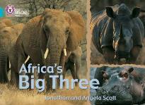 COLLINS BIG CAT : AFRICA'S BIG THREE BAND 07/TURQUOISE PB