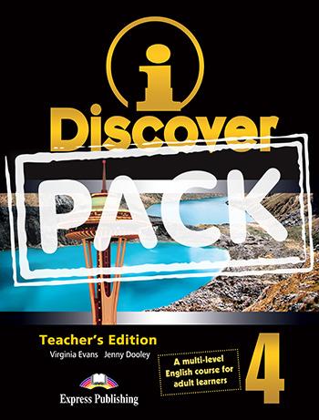 iDISCOVER 4 TEACHER'S BOOK  PACK