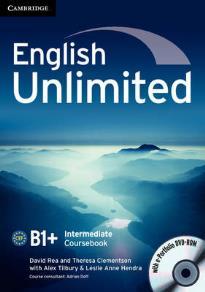 ENGLISH UNLIMITED B1+ INTERMEDIATE STUDENT'S BOOK (+ E-PORTFOLIO)