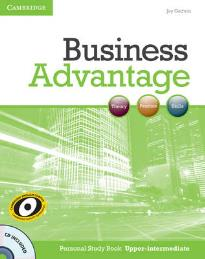 BUSINESS ADVANTAGE UPPER-INTERMEDIATE PERSONAL STUDY BOOK STUDENT'S BOOK (+ AUDIO CD)