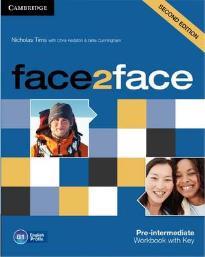 FACE 2 FACE PRE-INTERMEDIATE WORKBOOK WITH KEY 2ND ED