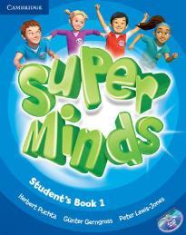 SUPER MINDS 1 STUDENT'S BOOK (+ DVD-ROM)