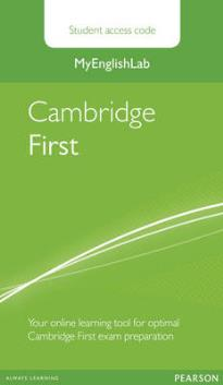 MY ENGLISH LAB : CAMBRIDGE FIRST STANDALONE STUDENT ACCESS CARD