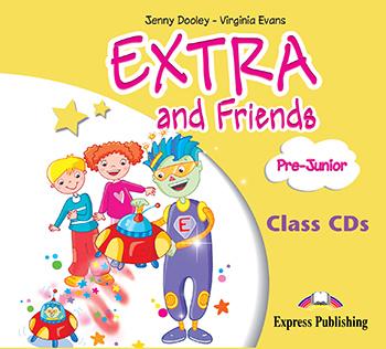EXTRA & FRIENDS PRE-JUNIOR CD CLASS (2)
