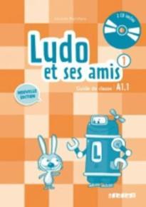 LUDO ET SES AMIS 1 A1.1 GUIDE PEDAGOGIQUE (+ AUDIO CD (2)) N/E