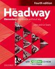 NEW HEADWAY ELEMENTARY WORKBOOK (+ iCHECKER) 4TH ED