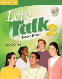LET'S TALK 2 STUDENT'S BOOK (+ CD) 2ND ED