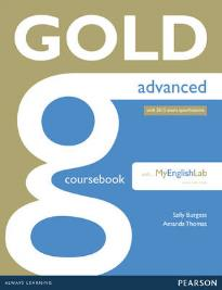 GOLD ADVANCED (+MY LAB PACK) STUDENT'S BOOK