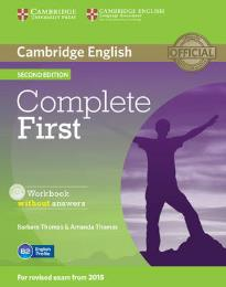 COMPLETE FIRST WORKBOOK (+ CD) 2ND ED