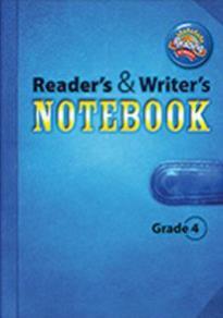 SCOTT FORESMAN READING STREET (GRADE 4) READER'S & WRITER'S NOTEBOOK PB