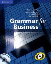 GRAMMAR FOR BUSINESS STUDENT'S BOOK (+ CD)