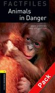 OBW LIBRARY 1: ANIMALS IN DANGER PACK (+ CD) - SPECIAL OFFER N/E