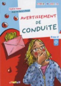 ADL : AVERTISSEMENT DE CONDUITE A2 (+ CD)